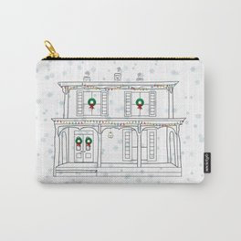 Haddaway House Holiday Carry-All Pouch