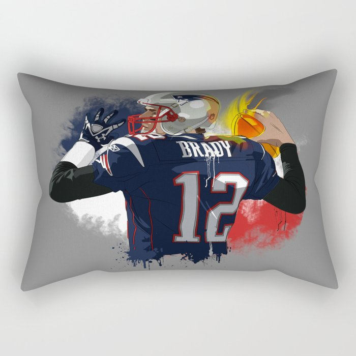 Tom Brady Rectangular Pillow