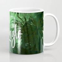 jungle Mugs featuring Jungle by Insait disseny