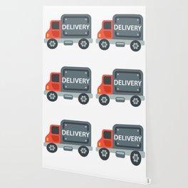 Delivery Truck Emoji Wallpaper