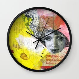 PIPE DREAM 024 Wall Clock