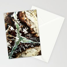 Green Vein Stationery Cards