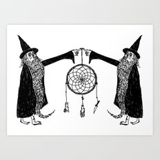 Dream Wizards Art Print