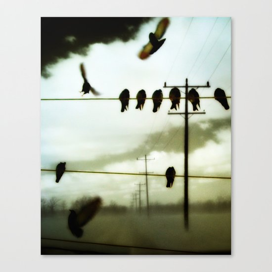 Lines Of Communication Canvas Print