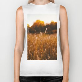 Golden Fields Biker Tank