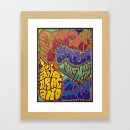 Dust and Drag Framed Art Print