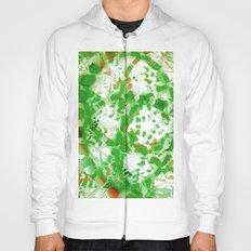 Green industrial abstract Hoody