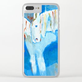 Birth of Baby Epona Clear iPhone Case