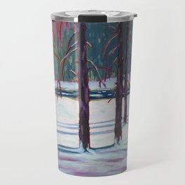 The Spruce Bog, Algonquin Park Travel Mug