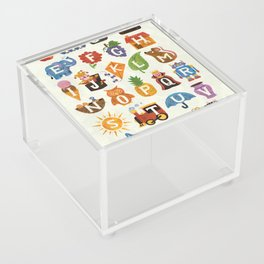 Alphabet Acrylic Box