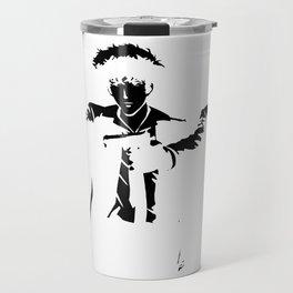 Cowboy Bebop - Spike Jet Knockout Black Travel Mug