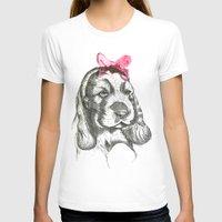 puppy T-shirts featuring Puppy by Lieke Mulder