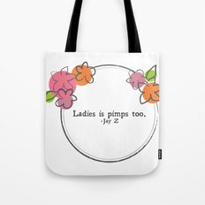 Floral - Ladies Tote Bag