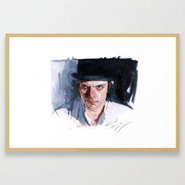 Malcolm McDowell Framed Art Print
