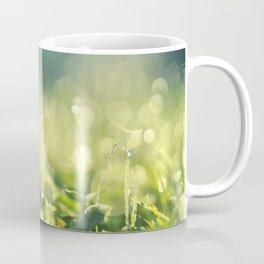 Morning lights in the meadow Coffee Mug