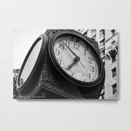 6:53 Metal Print