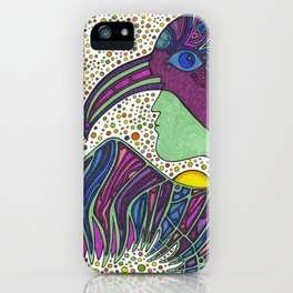 Bird Medicine 3 - Series iPhone Case