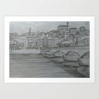 Coimbra, Portugal Art Print