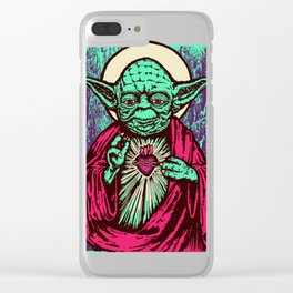Holy Master Clear iPhone Case