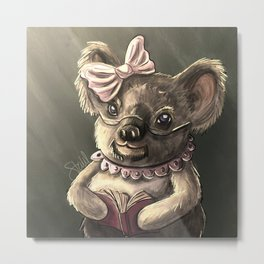 Grandmother Koala Bear Metal Print