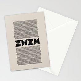 Tribal Boho Art Stationery Cards