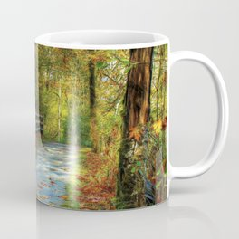 Fenced Autumn Coffee Mug