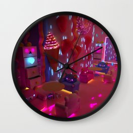 Lets's Go To The Coffee Shop Wall Clock