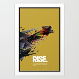 RISE by Michael Jewell Art Print