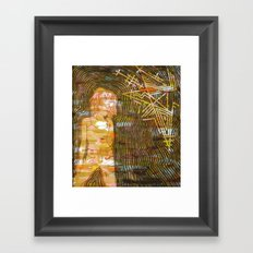 Dissonant Daphne and the Anechoic Star Framed Art Print
