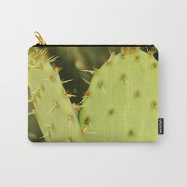 """Englemann's Prickly Pear Cactus """"Mitten"""" Carry-All Pouch"""