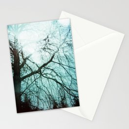 Winter Tree Holga Stationery Cards