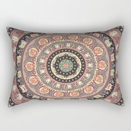 Cat Yoga Medallion Rectangular Pillow