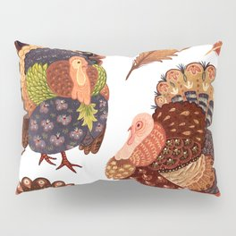 Turkey Gobblers Pillow Sham