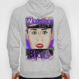 Miley cyrus - Wrecking Ball  Hoody