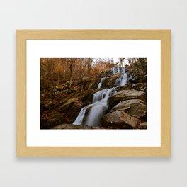 Shenandoah Waterfall  Framed Art Print