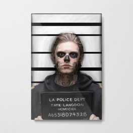 Convict Metal Print