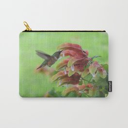 Hummingbird in Justicia Carry-All Pouch