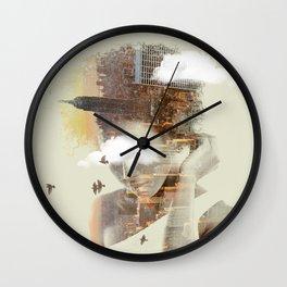 New York City dreaming Wall Clock