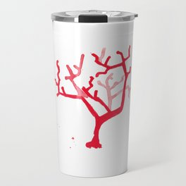 Red Coral I Travel Mug
