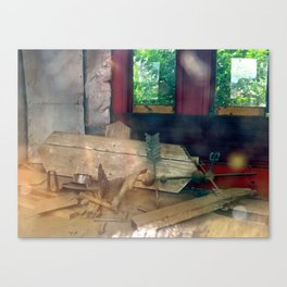 From the outside looking in. Canvas Print