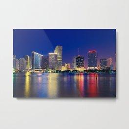 Miami 01 - USA Metal Print