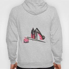 High Heels and nail polish art Hoody