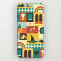 oz iPhone & iPod Skins featuring Oz by Ariel Wilson