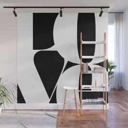 Love in Merge \ Inverse Wall Mural