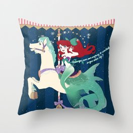 Carousel: So Wonerful Throw Pillow