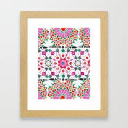 Pink Moorish Framed Art Print
