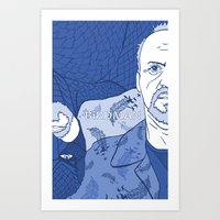 birdman Art Prints featuring Birdman by Chelsea Kepner
