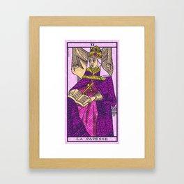La Papesse Framed Art Print