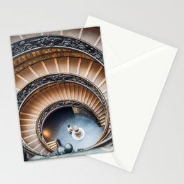 Vatican Museums Staircases Stationery Cards