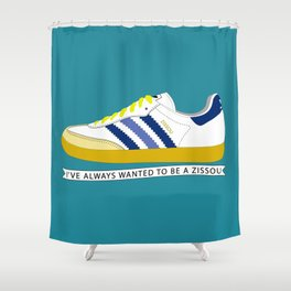 I've Always Wanted to be a Zissou - The Life Aquatic Shower Curtain